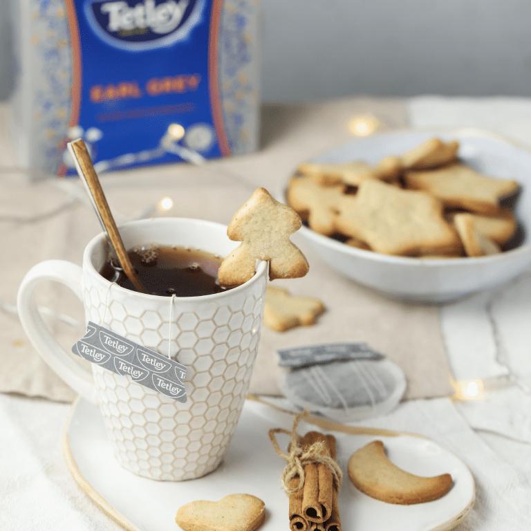 Sablés de Nöel au thé noir